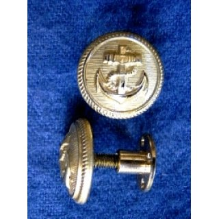 Pair of screw buttons